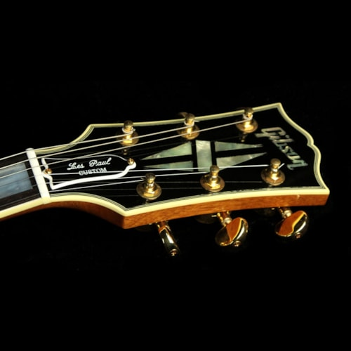 Gibson Custom Shop Used 2007 Gibson Custom Shop '68 Les Paul Custom Electric Guitar Antique Natural Ebony, Excellent, $3,199.00