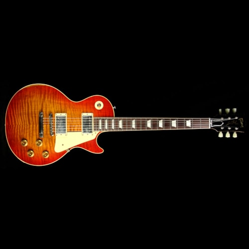 Gibson Custom Shop Used 2015 Gibson Custom Shop Music Zoo Exclusive Historic Select Roasted Reissue '59 Les Paul Electric Guitar Aged Washed Cherry Aged Washed Cherry, Excellent, $8,499.00