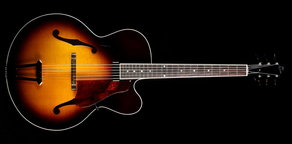 Gibson Custom Shop Used Gibson Custom Solid Formed 17 Inch Venetian Cutaway Archtop Guitar Cremona Brown Cremona Brown, Excellent, $3,999.00