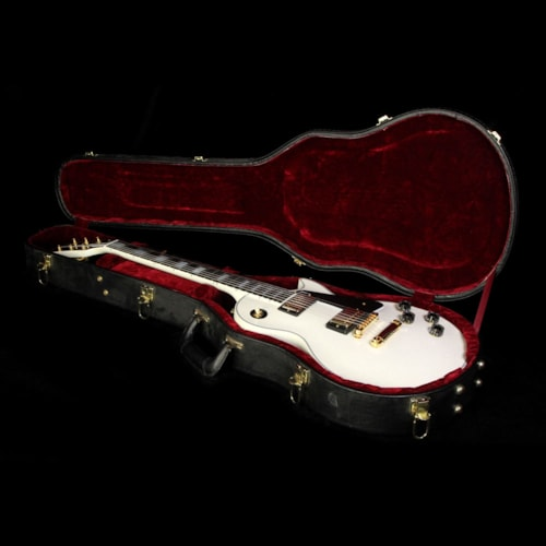Gibson Custom Shop Used Gibson Custom Shop Les Paul Custom Electric Guitar Diamond White Excellent, $4,299.00