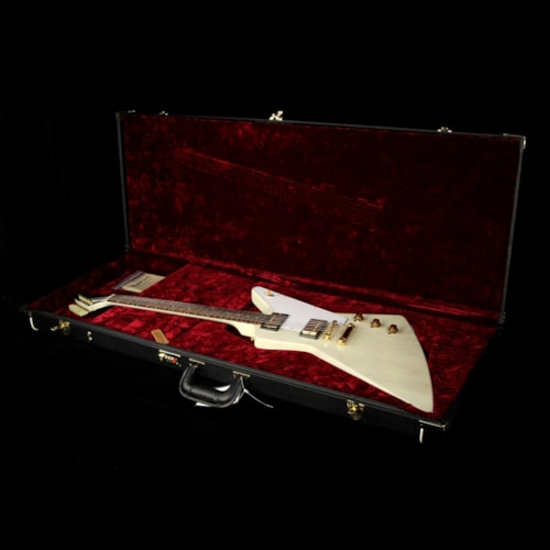 Gibson Custom Shop Used Gibson Custom Shop Zoo Select '58 Mahogany Explorer Electric Guitar TV White Excellent, $3,849.00
