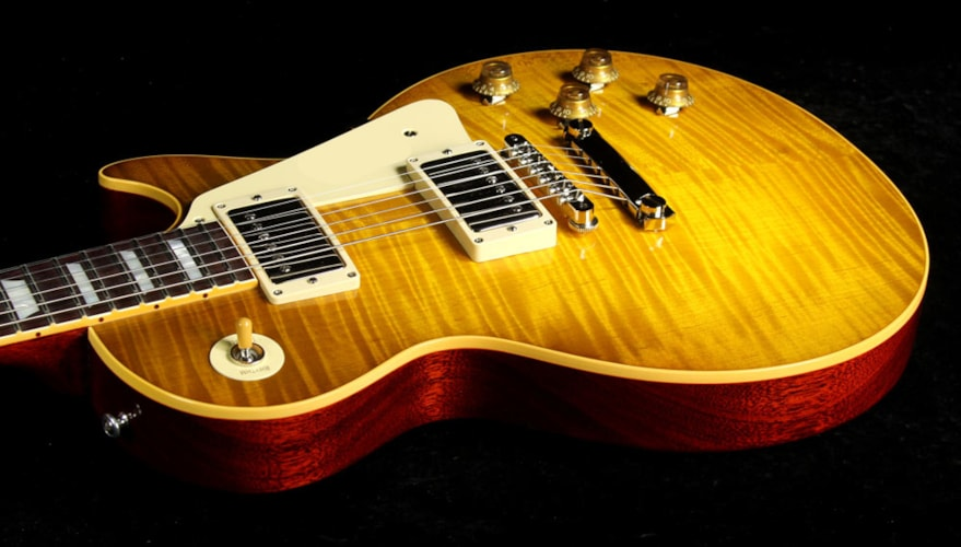Gibson Custom Shop Used Gibson Custom Shop True Historic '59 Les Paul Reissue Electric Guitar Lemonburst Lemonburst, Excellent, $6,209.00
