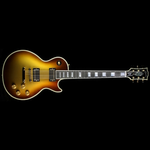 Gibson Custom Shop Used Gibson Custom Shop Zoo Select Les Paul Custom Electric Guitar Viceroy Gold Burst Excellent, $3,599.00