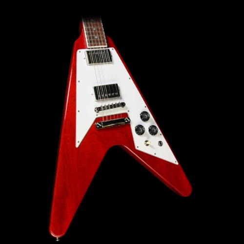 Gibson Custom Shop Used Gibson Custom Shop Flying V Custom Electric Guitar Cherry Gloss Excellent, $3,499.00