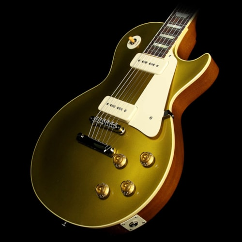 Gibson Custom Shop Used Gibson Custom Shop '56 Les Paul Chambered Reissue Electric Guitar Antique Gold
