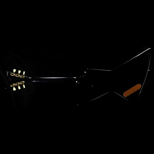 Gibson Custom Shop Used Gibson Custom Shop Made 2 Measure Mahogany Futura Electric Guitar Black Excellent, $2,899.00