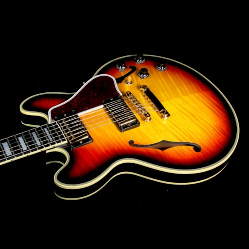 Gibson Custom Shop Used Gibson Custom Shop CS-356 Electric Guitar Tri-Burst Excellent, $3,799.00