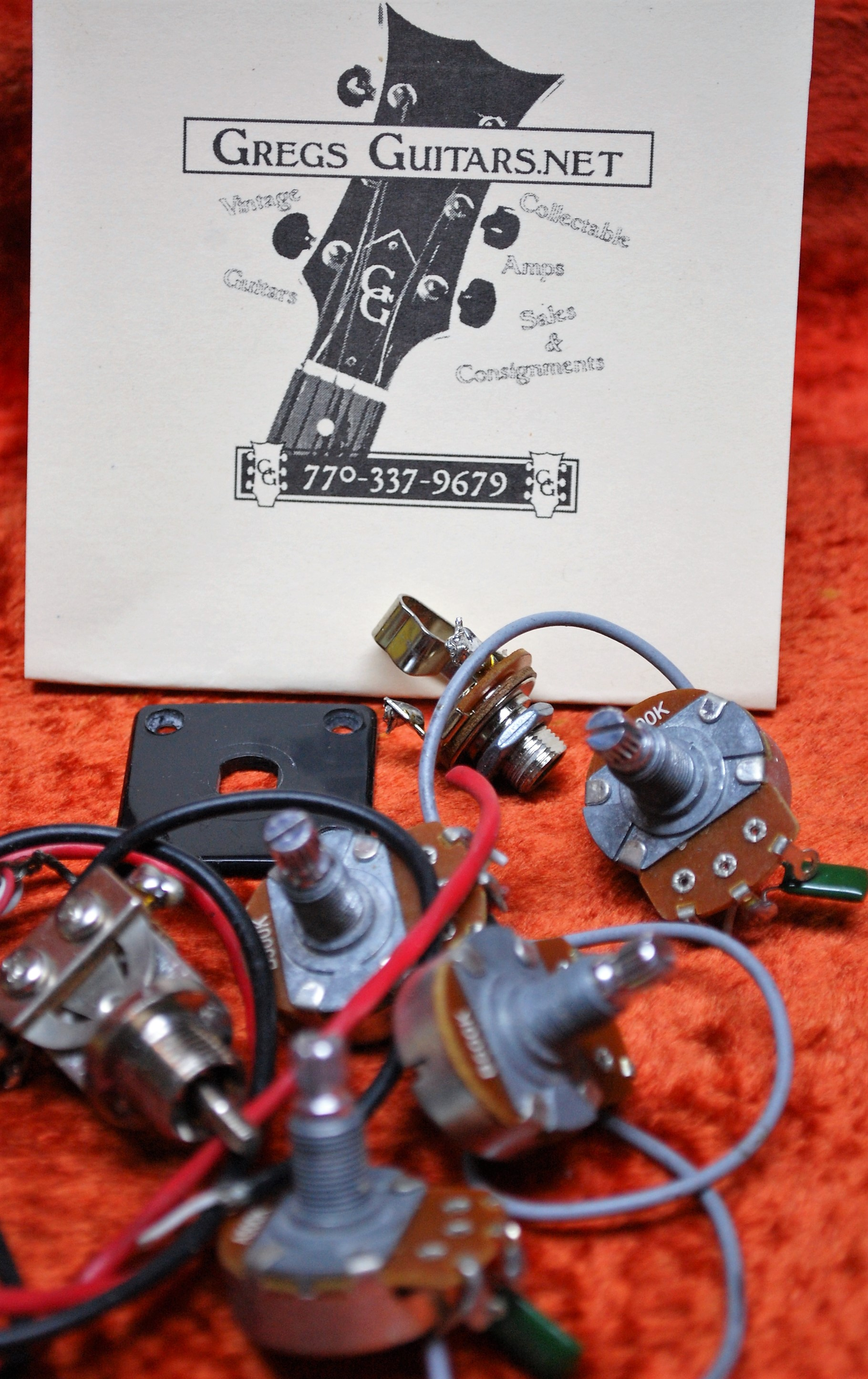 Epiphone Wiring Harness Library Gibson Explorer Guitar Parts Gregs Guitars