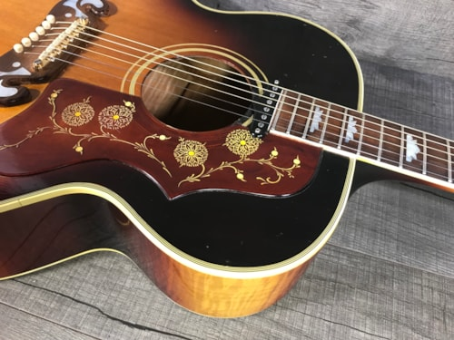 Gibson J-200 1963 Sunburst w/Factory Pickup!