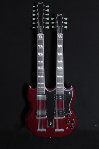 Gibson Jimmy Page Signature Doubleneck SG [Used by Steve Miller] Faded Cherry, Excellent, Original Hard, $15,000.00
