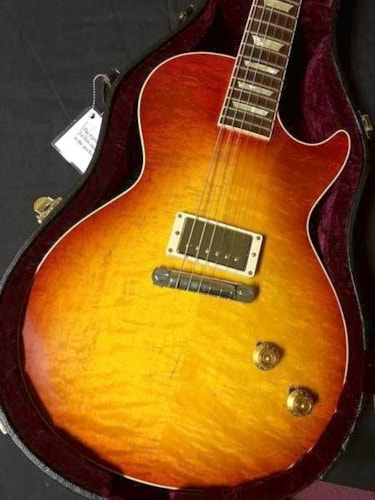 "Gibson Les Paul R8 ""Figured"" Single Pickup Sun Burst, Brand New, $4,500.00"