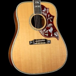 Gibson Montana Hummingbird Custom Koa Acoustic Natural 2008