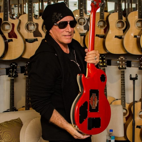 Gibson Neal Schon Gibson NS Les Paul Prototype #1 George Harrison Red, Excellent, Hard, $25,000.00