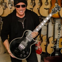 Gibson Neal Schon Pre Prototype Les Paul Black Beauty