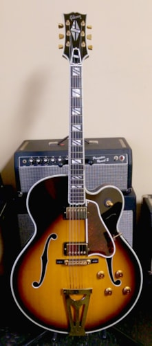 Gibson Super 400 Sunburst, Excellent, Original Hard