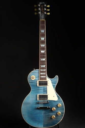 Gibson USA Les Paul Traditional 2015 - Ocean Blue Excellent, Hard