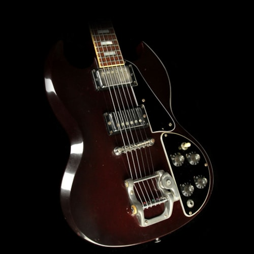 Gibson Used 1970s Gibson SG Deluxe Electric Guitar Cherry Excellent, $1,149.00