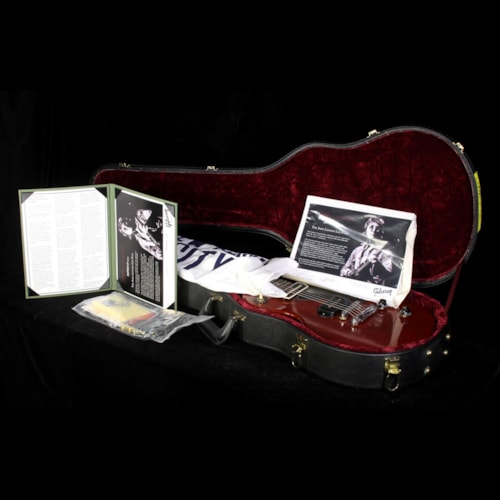 Gibson Used 2007 Gibson Custom Shop John Lennon Les Paul Junior Electric Guitar Cherry Red Cherry Red, Excellent, $4,999.00
