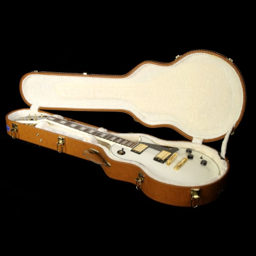 Gibson Used 2014 Gibson Les Paul Custom Lite Electric Guitar Alpine White Ebony, Excellent, $1,449.00