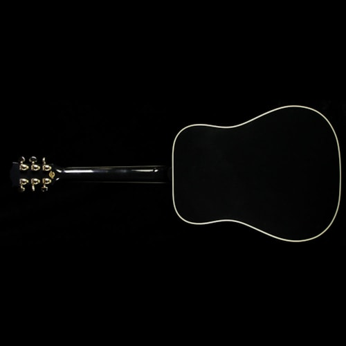 Gibson Used 2015 Gibson Hummingbird Limited Edition Acoustic/Electric Guitar Ebony Ebony, Excellent, $2,499.00