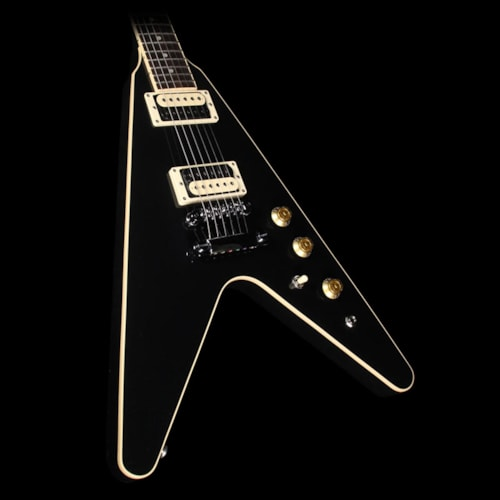 Gibson Used 2016 Gibson Flying V Pro T Electric Guitar Ebony Ebony, Excellent, $999.00