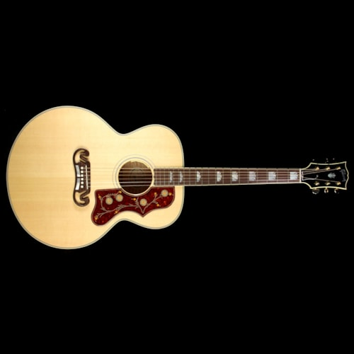 Gibson Used Gibson J-200 Acoustic/Electric Guitar Antique Natural Excellent, $2,799.00