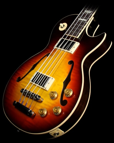 Gibson Used Gibson Memphis ES-Les Paul Bass Electric Bass Guitar Faded Darkburst Faded Darkburst, Excellent, $1,999.00