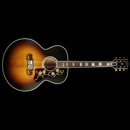 Gibson Used Gibson Montana SJ-200 Vintage Acoustic Guitar Vintage Sunburst VOS Excellent, $3,599.00
