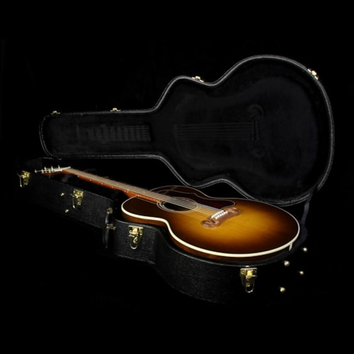 Gibson Used Gibson Montana SJ-100 Super Jumbo Walnut Acoustic Guitar Honeyburst