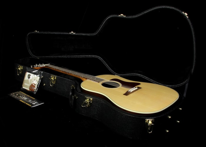 Gibson Used Gibson Montana J-29 Slope-Shoulder Dreadnought Acoustic/Electric Guitar Natural Natural, Excellent, $1,499.00