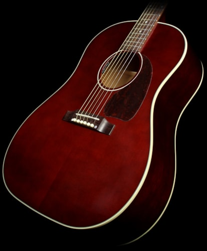 Gibson Used Gibson Montana J-45 Standard Limited Edition Acoustic/Electric Guitar Wine Red Wine Red, Excellent, $1,799.00