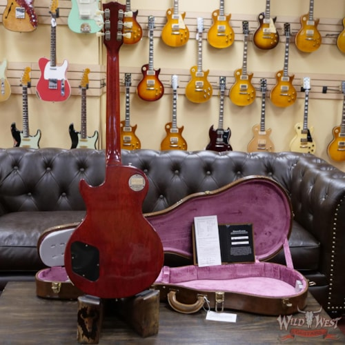 2019 Gibson Custom Shop 1960 Les Paul Standard '60 Reissue R0 Aged Cherry Red