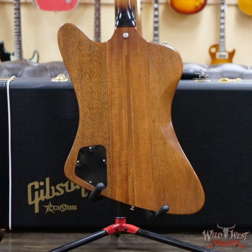 2019 Gibson Custom Shop 1963 Firebird V Indian Rosewood Fingerboard VOS Vintage Sunburst