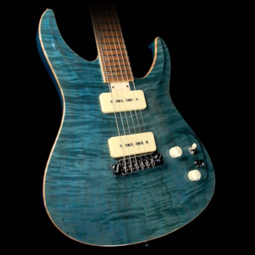 Giffin Used Giffin Micro Electric Guitar Peacock Blue Excellent $3,100.00