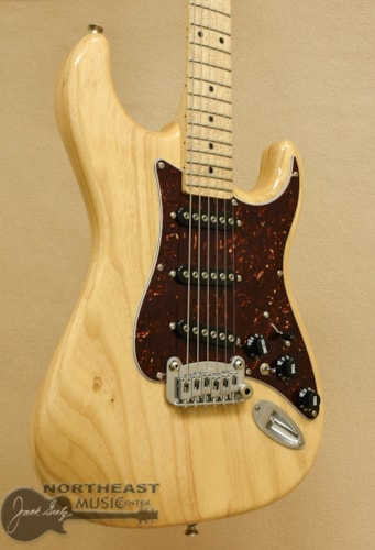 G&L S-500 Light weight Swamp Ash - Vintage Natural (Used)