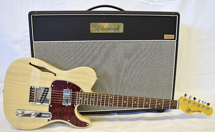 G&L Tribute ASAT Classic Bluesboy Semi-Hollow Blonde, Brand New, Call For Price!