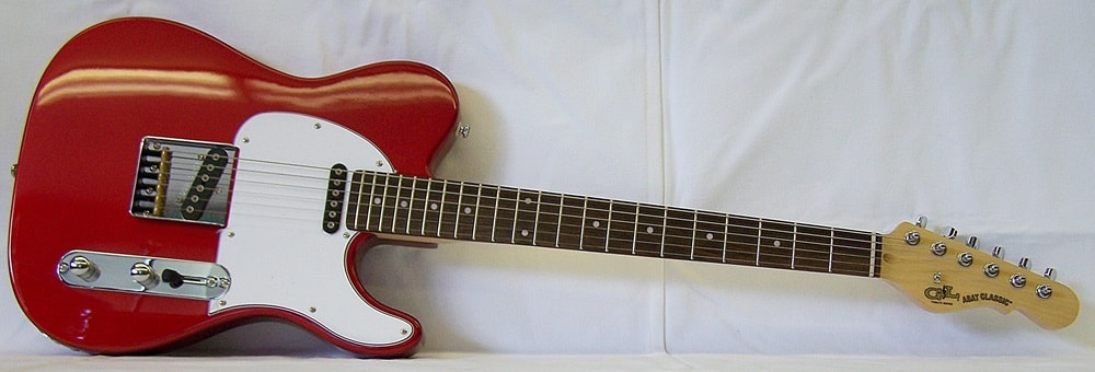 G&L Tribute ASAT Classic Candy Apple Red, Brand New, $399.99