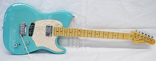 Godin Session Custom '59 LTD. Coral Blue