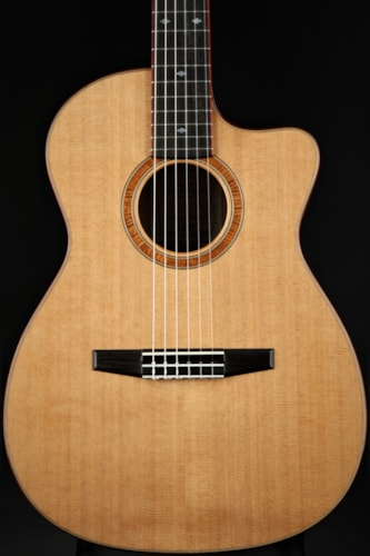 Goodall Nylon Crossover AAA Koa/Red Cedar
