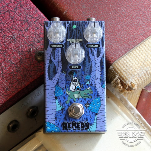 Greenhouse Effects Remedy Fuzz Brand New $184.99