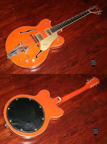 1963  Gretsch 6120 Western Orange