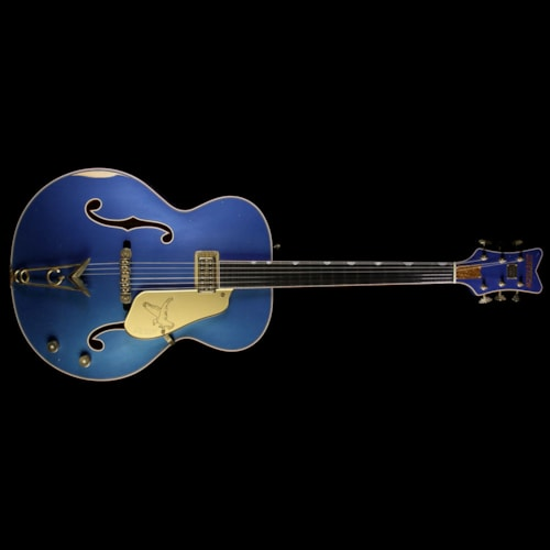 Gretsch Custom Shop Masterbuilt Stephen Stern '59 Falcon Relic Electric Guitar Lake Placid Blue Brand New, $8,999.99