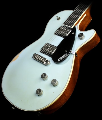 Gretsch Custom SHop MB Stephen Stern Duo Jet GT Electric Guitar Relic Sonic Blue Sonic Blue, Brand New, $6,399.99