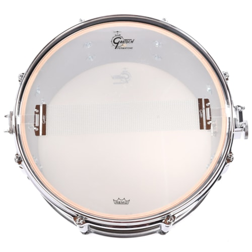 Gretsch 6x13 USA Custom Snare Drum Chestnut Duco Satin Lacquer