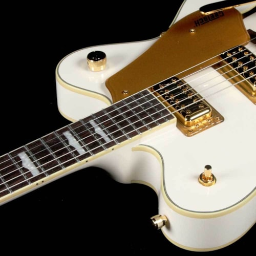 Gretsch Electromatic G5422TG Electric Guitar Snowcrest White