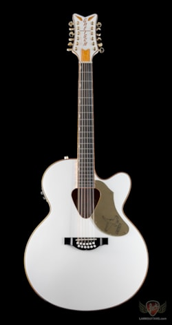 Gretsch G5022CWFE-12 Rancher Falcon 12 String Jumbo Acoustic Electric - White