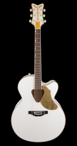 Gretsch G5022CWFE Rancher Falcon Jumbo Acoustic Electric - White