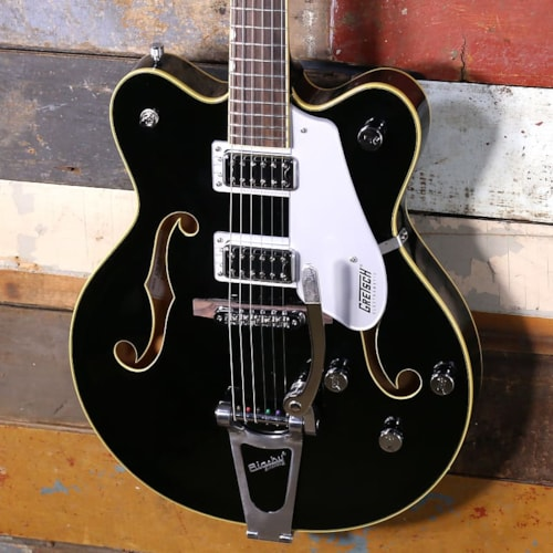 Gretsch G5422T Electromatic Hollow Body Double Cut With Bigsby Black