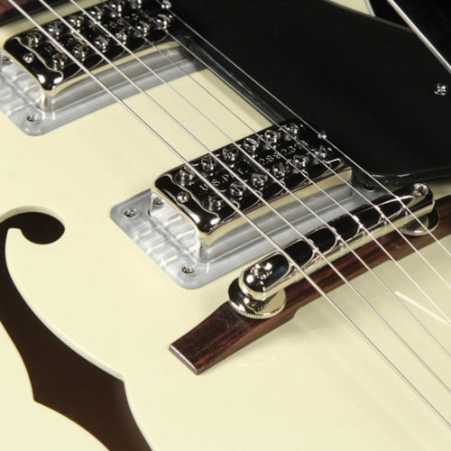 Gretsch G6118T-LIV Players Edition Anniversary 2-Tone Lotus Ivory and Charcoal Metallic