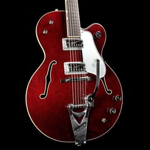 Gretsch G6119T-62 Vintage Select Tennessee Rose Hollow Body Dark Cherry Stain